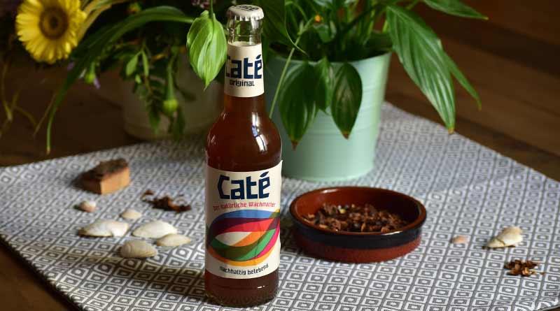 Caté Koffeinhaltiges Getränk aus Kaffeeschalen