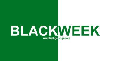 Nachhaltige Angebote zur Black Week