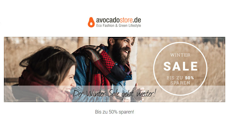 Avocado Store Winter Sale