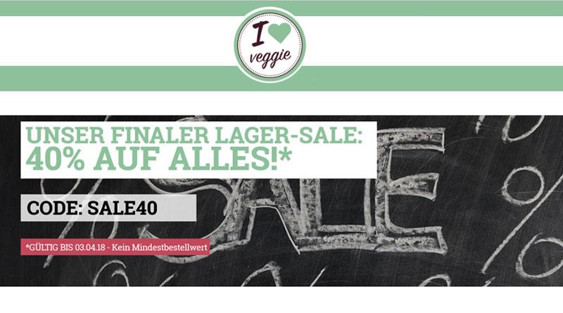 I Love Veggie Lager-Sale